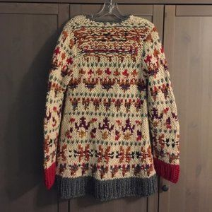 Anthropologie Jackets & Coats - Anthropologie NEO-FAIRISLE CARDIGAN